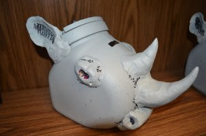 Rhino Donation Box