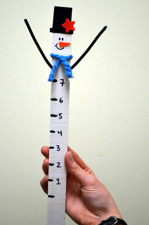 how to read a measuring stick