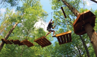 Greensboro Natural Science Center Ropes Course